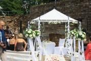 """Freie Trauung Schlossruine Herbsleben """"4 Hochzeiten und eine Traumreise"""""""